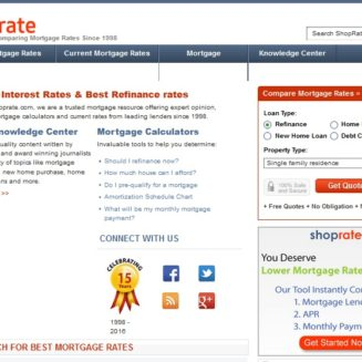 ShopRate.com redesigned